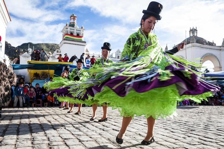 Fiesta de la Virgen de Candelaria, Copacabana, Bolivia, 2014