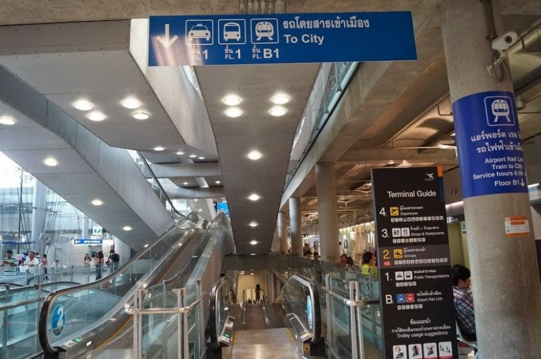airport rail link tren aeropuerto de Bangkok (3)